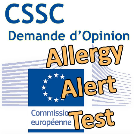 AAT (Test Alerte Allergie) : demande d'Opinion au CSSC