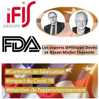 Les BPF en temps de Covid-19 : recommandations de la FDA