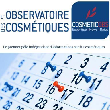 L'agenda de la rédaction de CosmeticOBS