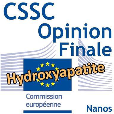 Hydroxyapatite : Opinion finale du CSSC