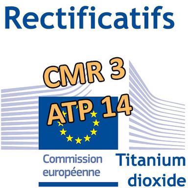 (Légères) modifications du 3e Règlement CMR et de la 14e ATP au CLP
