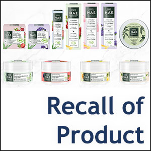 Recall of N.A.E products by Henkel France