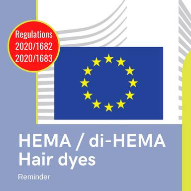 Rappel HEMA/Colorations capillaires : de nouvelles restrictions entrent en application