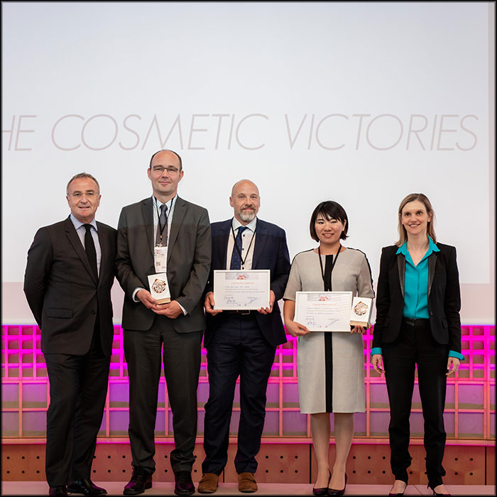 The winners of the Cosmetic Victories 201