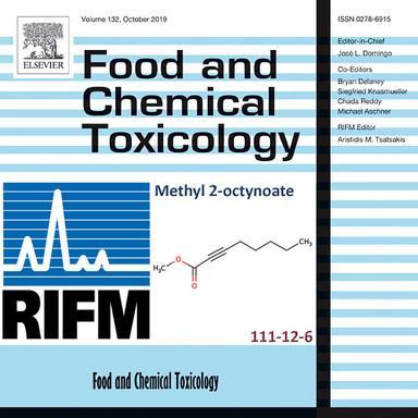 Methyl 2-octynoate : sûr en cosmétique, pour le RIFM