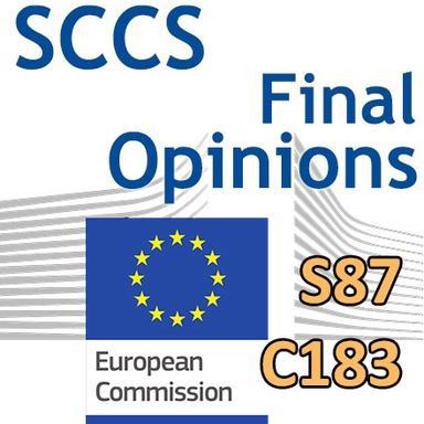 S87, C183 : Opinions finales du CSSC