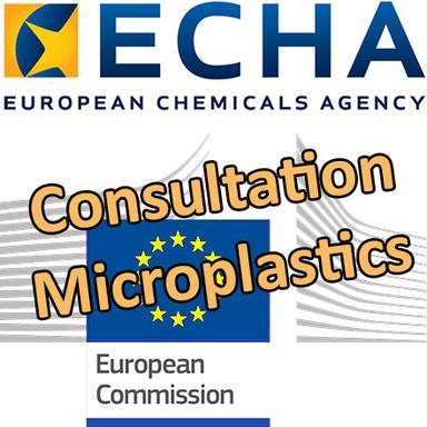 Consultation de l'ECHA sur la restriction des microplastiques
