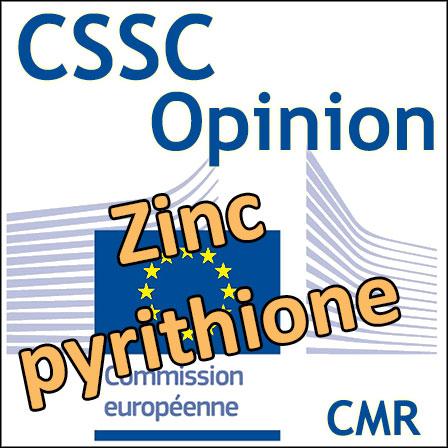 Zinc pyrithione: Opinion du CSSC