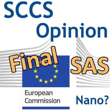 Solubilité des SAS : Opinion finale du CSSC