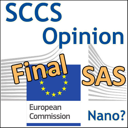 Solubility of the SAS: Final Opinion of the SCCS