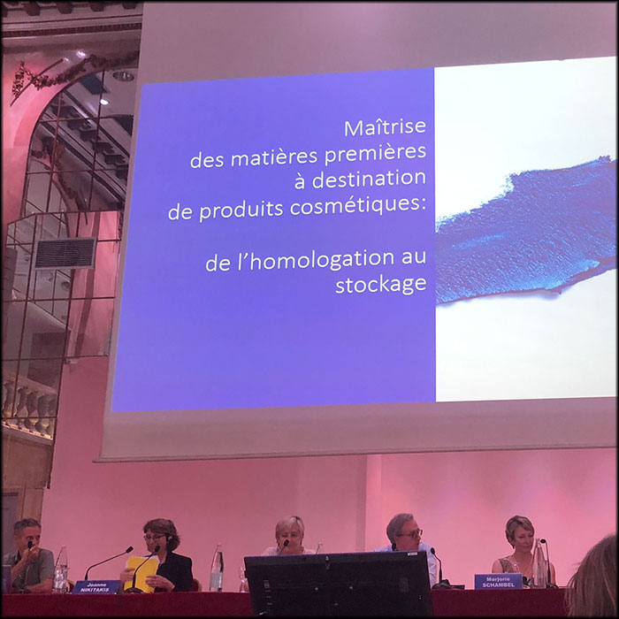 2019 Seminary on Quality in the Cosmetics industry