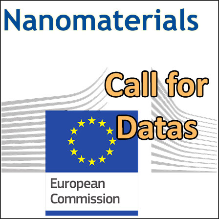 Call for data from the European Commission for6nano-ingredients