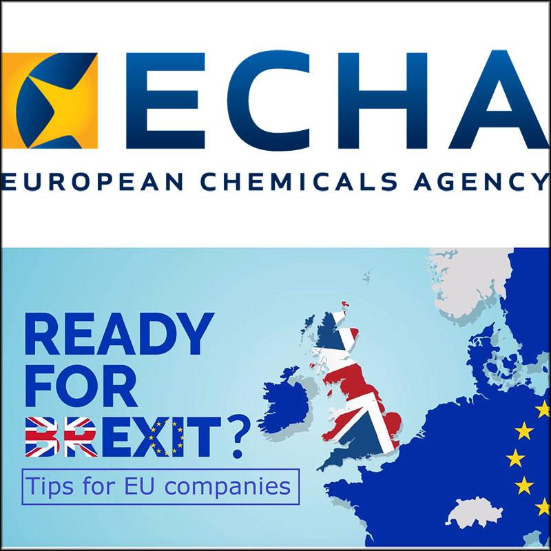Brexit: préparez vos chaînes d'approvisionnement, exhorte l'ECHA
