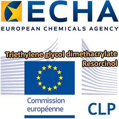 Propositions CLH : 2 ingrédients cosmétiques en consultation