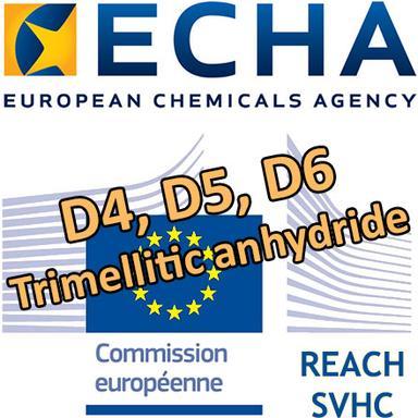 """Consultation de l'ECHA sur l'inclusion de 4 substances """"cosmétiques"""" dans la liste d'autorisation REACH"""