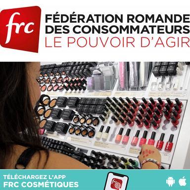 La Fédération romande des consommateurs demande l'interdiction de trois ingrédients cosmétiques