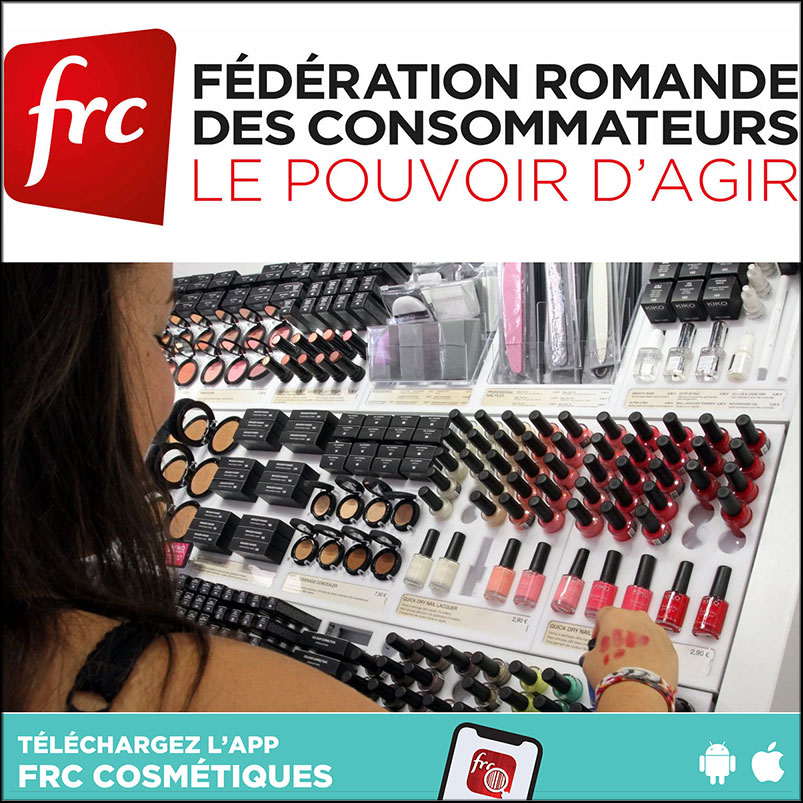 A Swiss Consumers' Federation is calling for a ban on three cosmetic ingredients