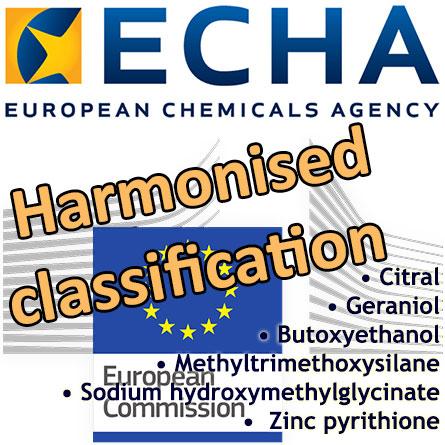 RAC's proposal of harmonised classifications