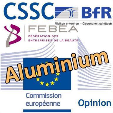"""Opinion du CSSC sur l'aluminium : le """"décryptage"""" de la FEBEA... et les doutes du BfR"""