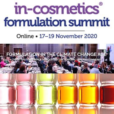 La conférence in-cosmetics Formulation à l'heure du changement climatique