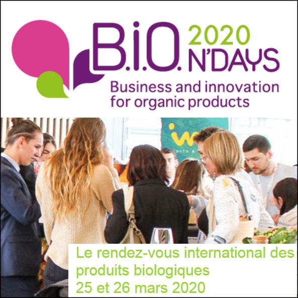6e édition des B.I.O.N'DAYS: comment ancrer durablement la croissance du bio?