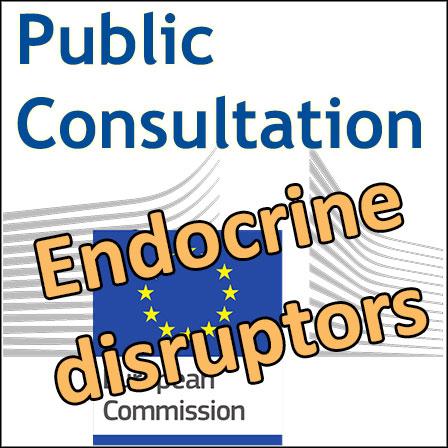 European Commission public consultation on endocrine disruptors