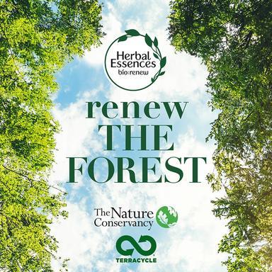 Herbal Essences et TerraCycle s'unissent contre la déforestation