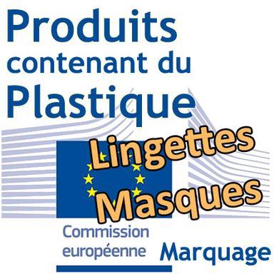 Marquage des produits contenant du plastique : les précisions de la Commission