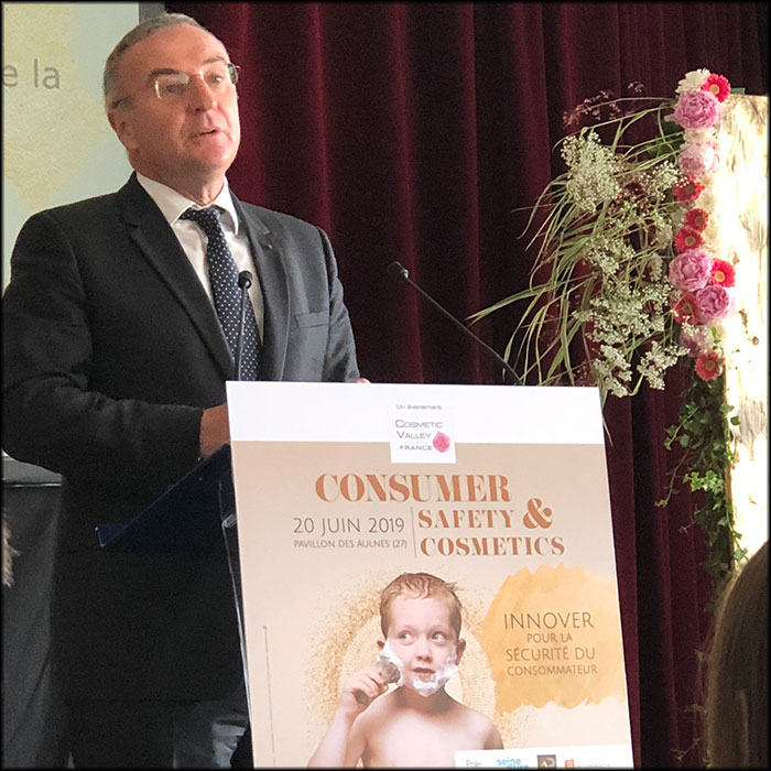 Marc-Antoine Jamet, President of the Cosmetic Valley
