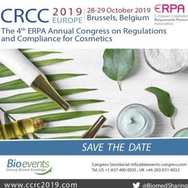 4e édition du Congrès annuel sur la réglementation et la conformité en cosmétique de l'ERPA