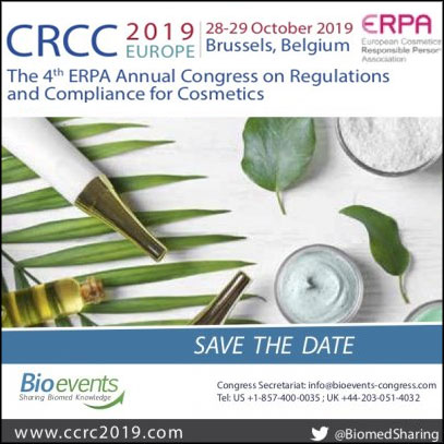 4th ERPA Annual Congress on Regulations and Compliance for Cosmetics