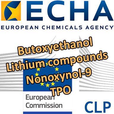 """Propositions CLH : 6 substances """"cosmétiques"""" en consultation"""