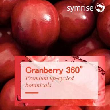 Cranberry 360° : l'upcycling de la canneberge par Symrise
