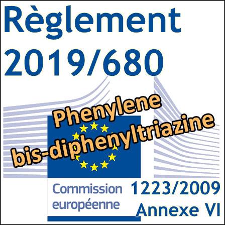 Règlement2019/680: un nouveau filtre UV autorisé