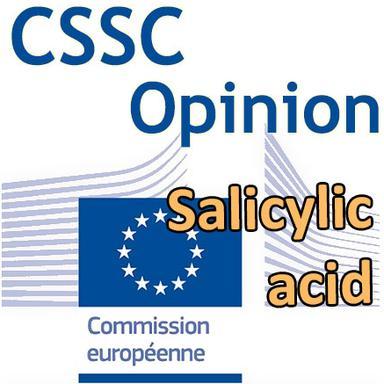 Opinion CSSC Salicylique acid