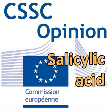 Opinion CSSC Salicylique acid