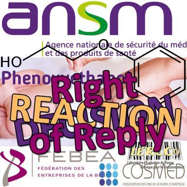 DPS Phénoxyéthanol : Droit de réponse