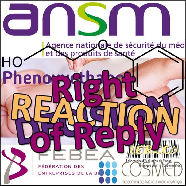 DPS Phenoxyethanol: Right of Reply
