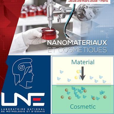 Logo LNE et schéma migration de nanos
