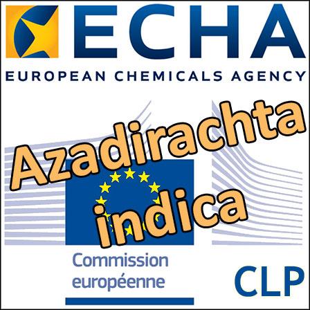Proposition de classification CMR2pour les extraits de graines de neem