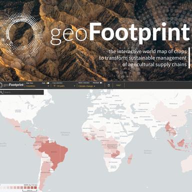 geoFootprint : visualiser l'impact environnemental des chaînes d'approvisionnement depuis l'espace