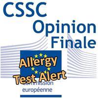 AAT (Test Alerte Allergie) : Opinion finale du CSSC