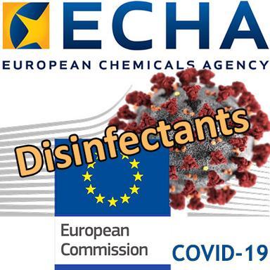 Les mesures de l'ECHA pour accélérer l'approvisionnement en désinfectants