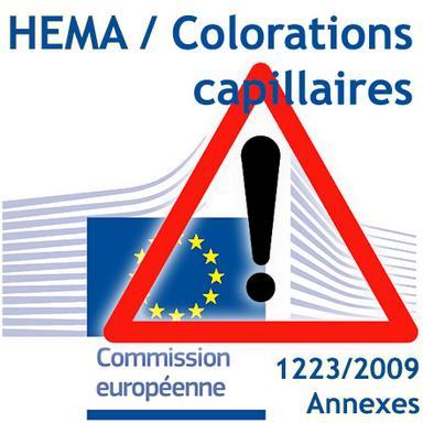 Rappel HEMA/Colorations capillaires : entrée en application des nouvelles restrictions