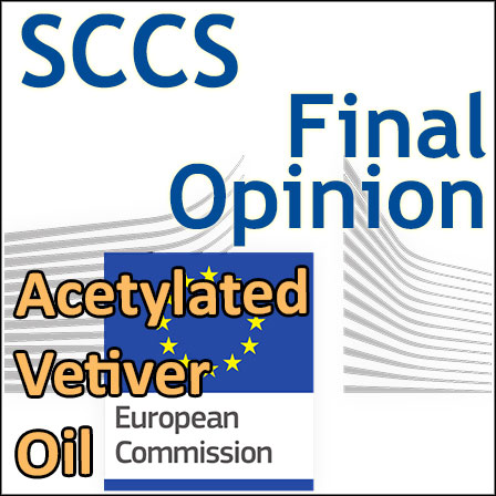 Acetylated Vetiver Oil: Final Opinion of the SCCS
