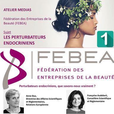 Atelier presse de la FEBEA sur les perturbateurs endocriniens