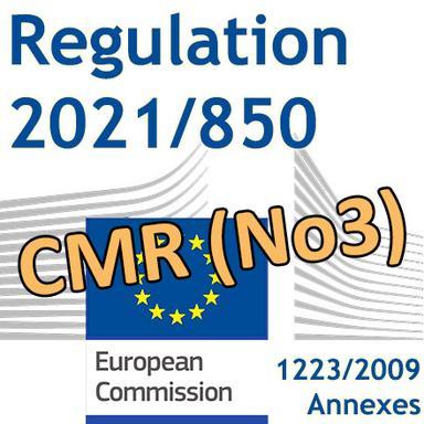 Publication du 3e Règlement CMR