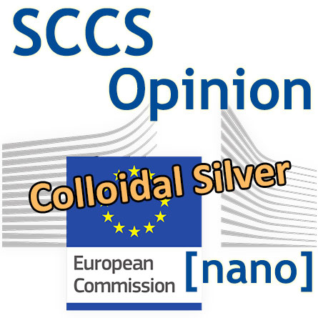European Commission logo - SCCS Opinion Colloidal Silver