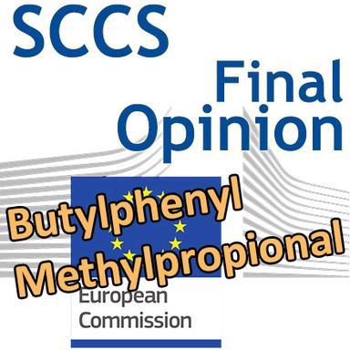Butylphenyl methylpropional : Opinion finale du CSSC