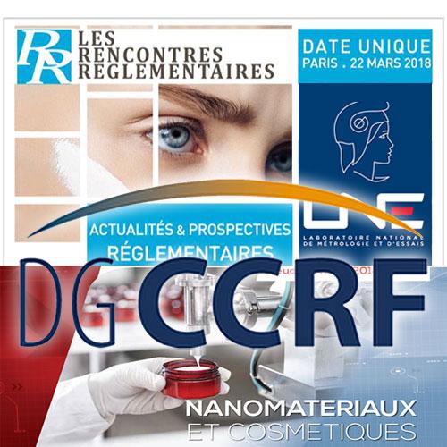 Cosmed, LNE & DGCCRF Logos